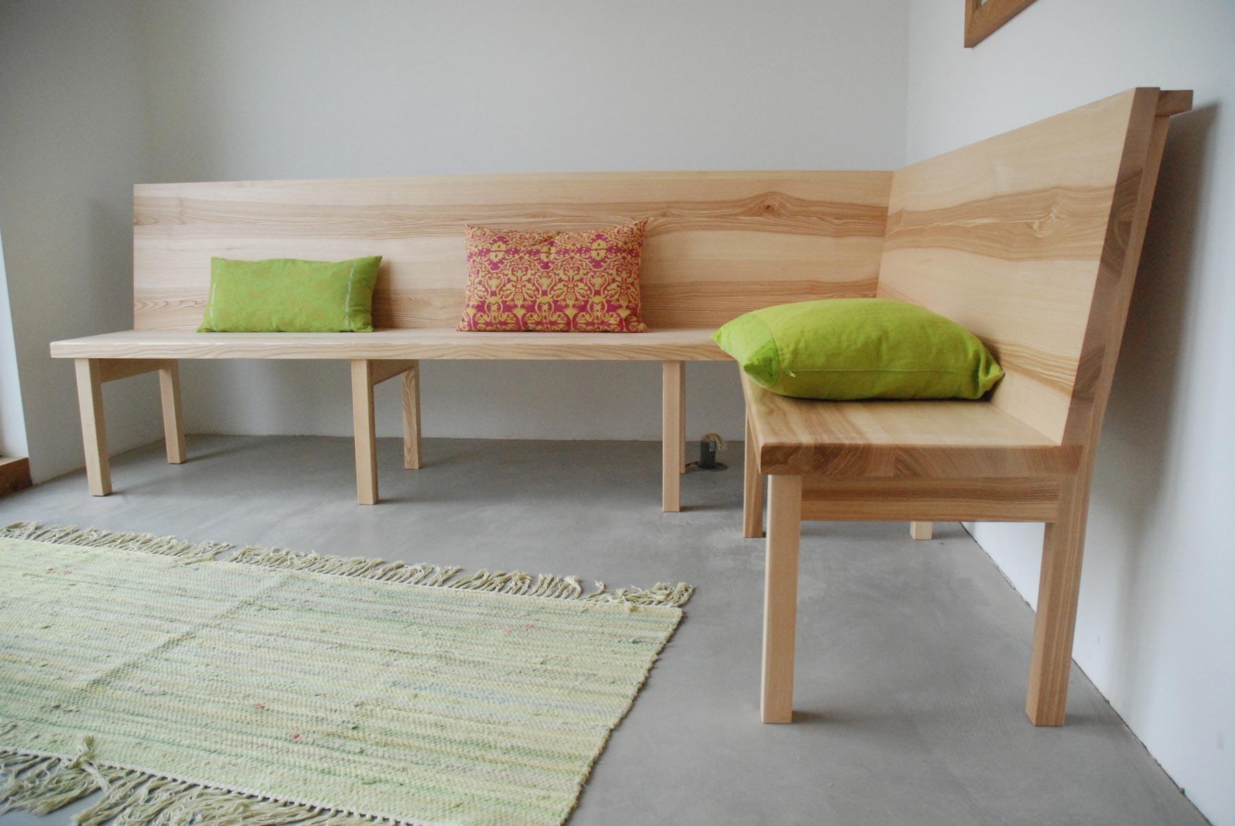 Eckbank massivholz nach maß  Eckbänke massiv und nach Maß für bequemes Sitzen