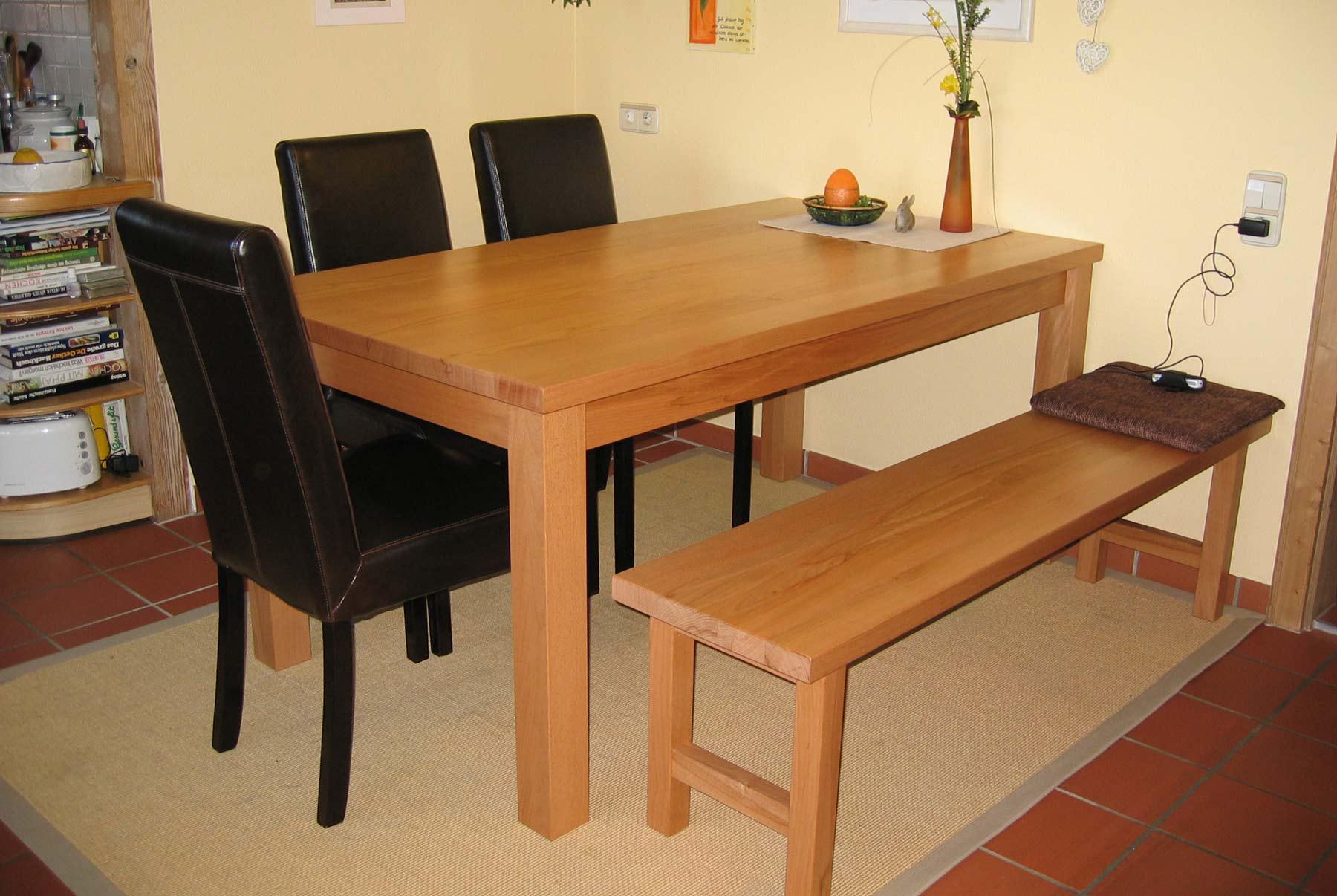 Tische aus Massivholz - Für das Esszimmer, das Büro oder einen anderen Einsatzzweck